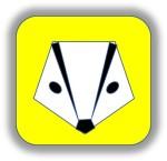 The Information Badger's Logo